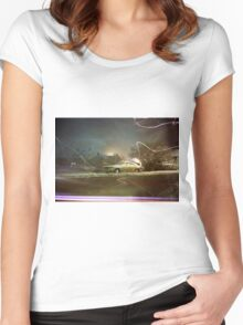 Zigzags Women's Fitted Scoop T-Shirt