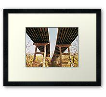 Highway Overpass Framed Print
