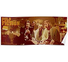 pulp fiction vintage poster Poster