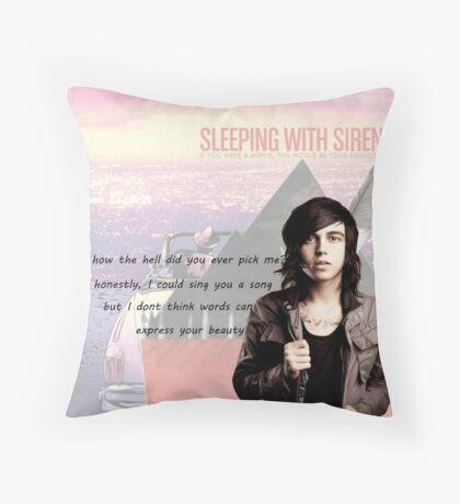 Kellin Quinn- quote + albums Throw Pillow