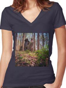Broken Home Women's Fitted V-Neck T-Shirt