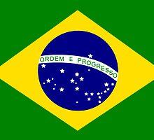 Brasil Flag by Paducah