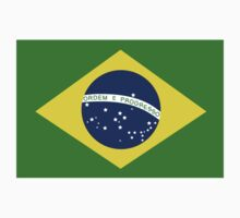 Brasil Flag One Piece - Short Sleeve