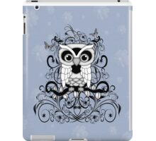 Fantasy Black Owl  iPad Case/Skin