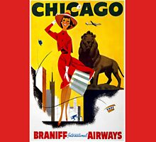 Vintage poster - Chicago Unisex T-Shirt