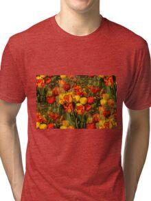 Tulip Intensity Tri-blend T-Shirt