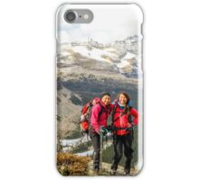 Sam and Nancy on the Yukness Ledges iPhone Case/Skin