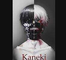 Ken Kaneki Black and White Women's Fitted Scoop T-Shirt