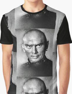 Yul Brynner by John Springfield Graphic T-Shirt