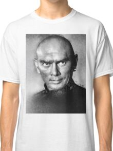 Yul Brynner by John Springfield Classic T-Shirt