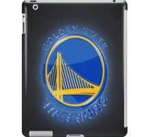 Golden State Warriors Glow iPad Case/Skin
