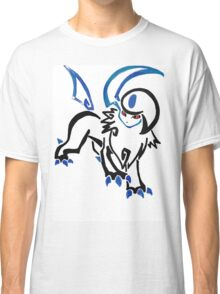 Pokemon Absol - tribal Classic T-Shirt