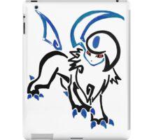 Pokemon Absol - tribal iPad Case/Skin