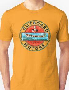 Vintage Evinrude outboard motor. T-Shirt