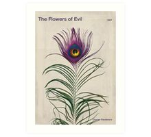 Charles Baudelaire - The Flowers of Evil Art Print