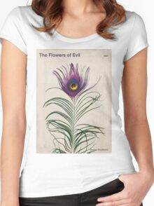 Charles Baudelaire - The Flowers of Evil Women's Fitted Scoop T-Shirt