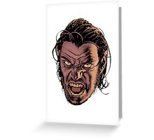 bigby wolf - from fables/ the wolf among us Greeting Card