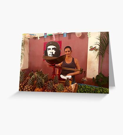 Cuba - Cienfuegos - Che quita Greeting Card