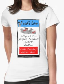 Fred's Law 2 Womens Fitted T-Shirt