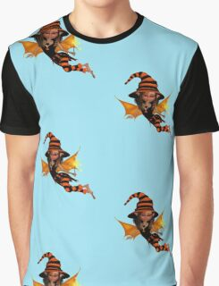 Cute Halloween Witch  Graphic T-Shirt