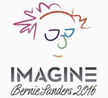 Imagine Bernie Shirt and Fundraising Gear One Piece - Short Sleeve