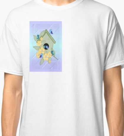 Cute Birdhouse  Classic T-Shirt