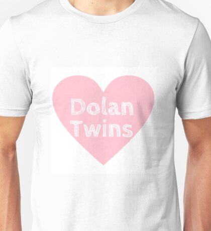 Dolan Twins heart Unisex T-Shirt