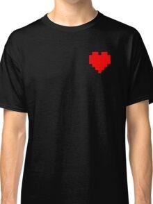 Broken Pixel - Determined Pixel Heart Classic T-Shirt