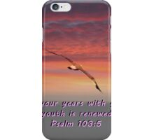 """Psalm 103:5"" by Carter L. Shepard""  iPhone Case/Skin"