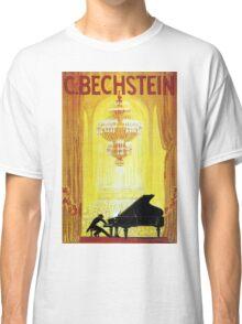 Vintage C. Bechstein German Piano Advertisement Classic T-Shirt