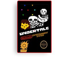 Undertale NES Edition Canvas Print