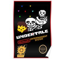 Undertale NES Edition Poster