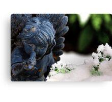 Snow Angel Whisperer Canvas Print