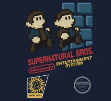 Supernatural Bros. Box Art Kids Tee