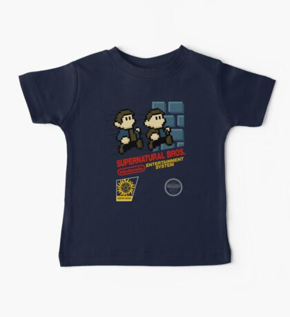 Supernatural Bros. Box Art Baby Tee