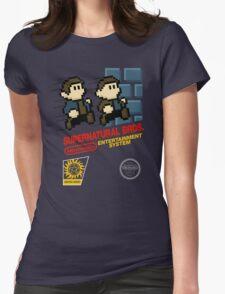 Supernatural Bros. Box Art Womens Fitted T-Shirt