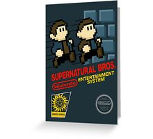 Supernatural Bros. Box Art Greeting Card