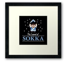The Legend of Sokka Framed Print