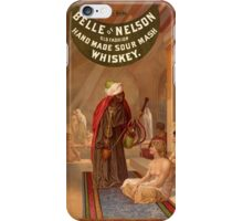 Vintage Belle of Nelson Whiskey Turkish Harem iPhone Case/Skin