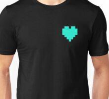 Broken Pixel - Patient Pixel Heart Unisex T-Shirt