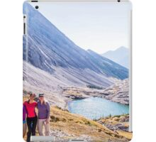 The Girls Over Headwall Lakes iPad Case/Skin