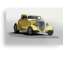 1934 Ford Coupe 'Studio' I Metal Print