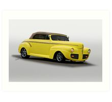 1941 Ford Convertible Coupe Art Print