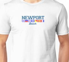 Newport Beach - California. Unisex T-Shirt