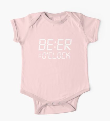 Beer O'clock One Piece - Short Sleeve