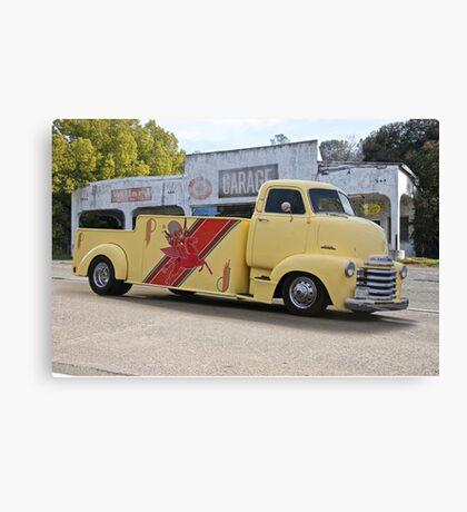 1953 Chevrolet 5700 COE Car Carrier Canvas Print