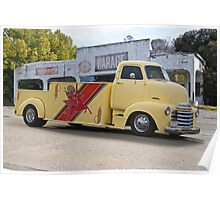 1953 Chevrolet 5700 COE Car Carrier Poster