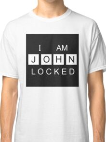 I AM JOHNLOCKED Print Classic T-Shirt
