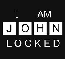I AM JOHNLOCKED Print by Sian Kjellberg