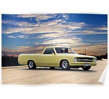 1965 Chevrolet El Camino 'Mild Custom' Poster